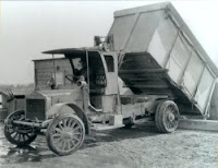 1920s garbage truck used by King County, WA