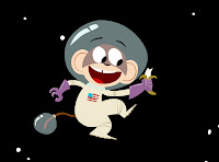 Monkey in space!
