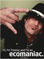 Tommy Lee the Egomaniac on Planet Green