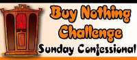 Buy Nothing Sunday Confessional