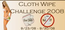 Cloth Wipe Challenge 2008