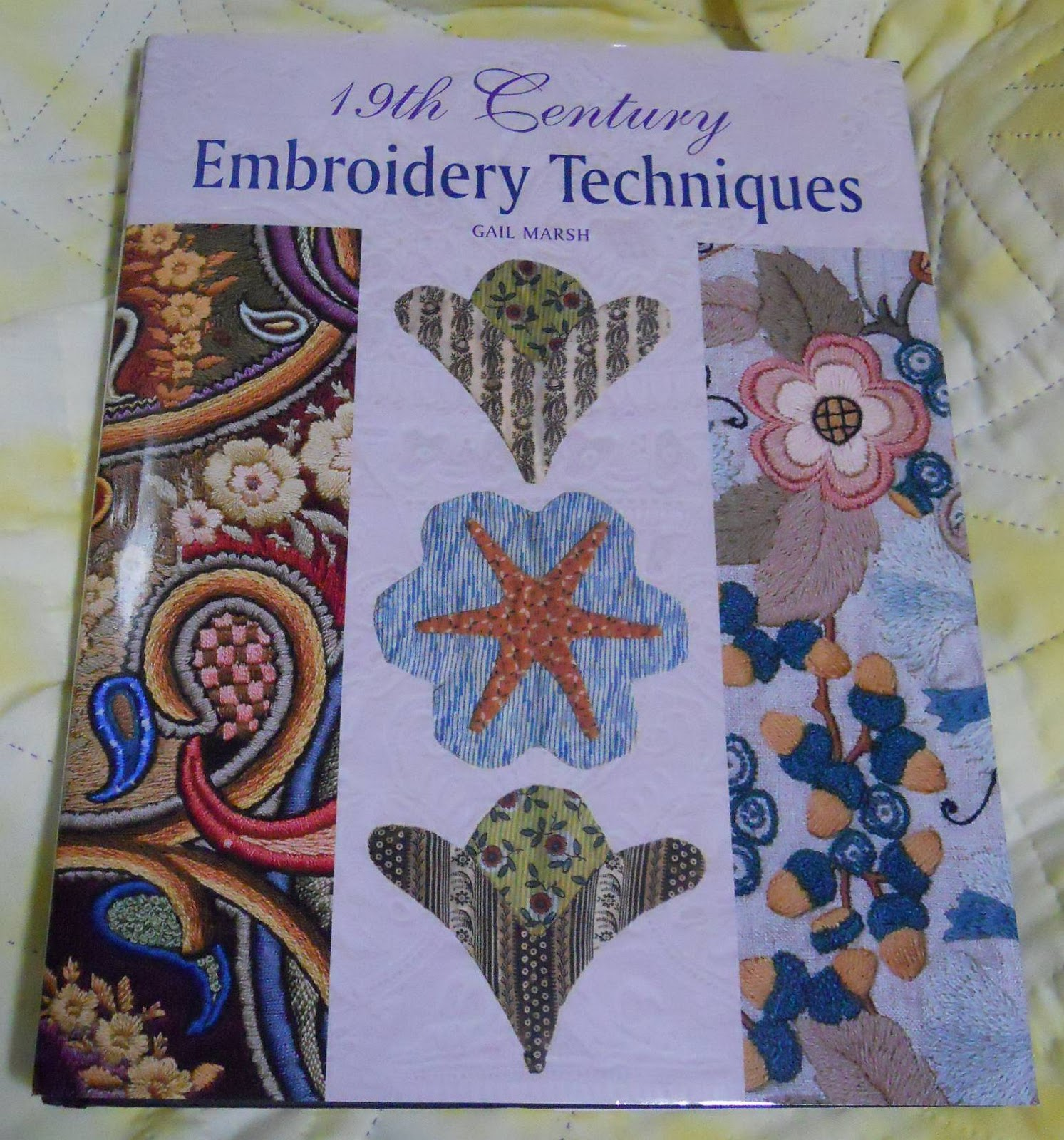 Embroidery tips free patterns