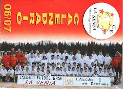 CALENDARIO TEMPORADA 06/07