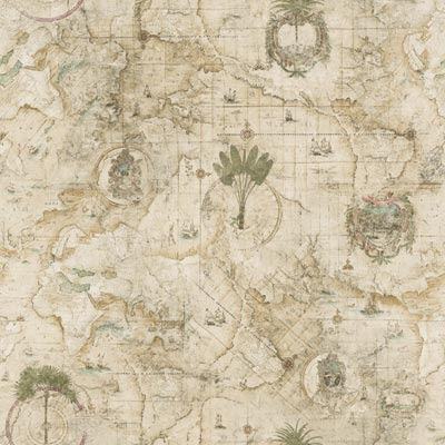map wallpaper. Antique map wallpaper
