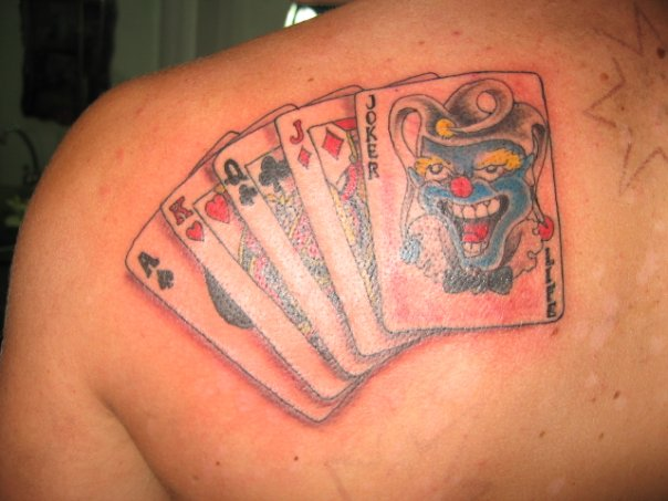 joker tattoo designs. King Joker Card Tattoo