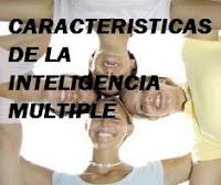Caracteristicas de la inteligencia multiple