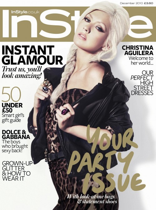 Christina Aguilera is InStyle Magazine Cover Girl