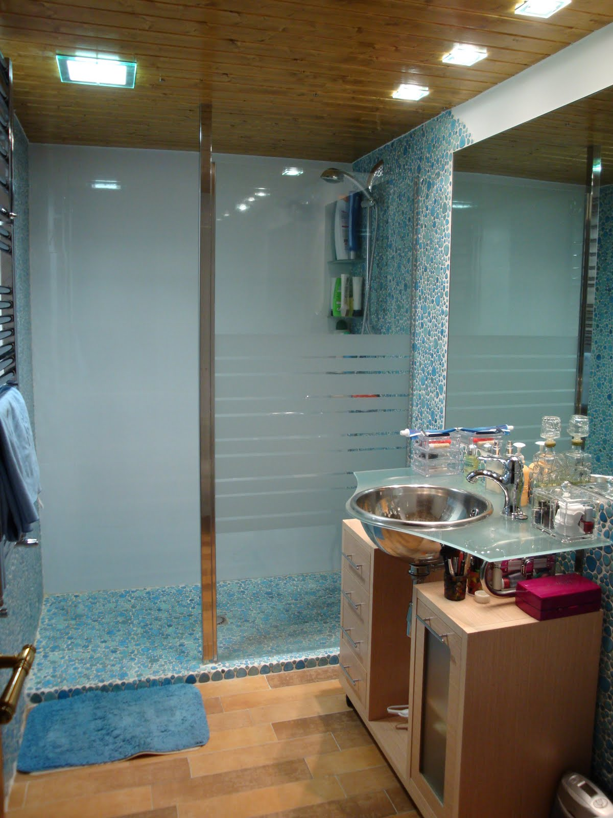 mamparas para duchas de obra