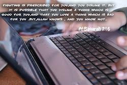 ::Al-Baqarah :216::