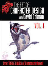 The Art of Character Design with David Colman Vol 1