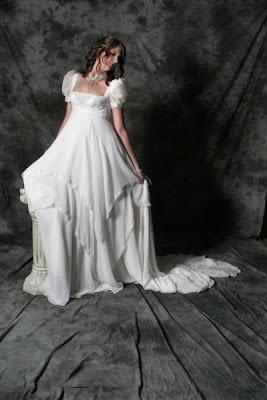 Romantische Brautkleider