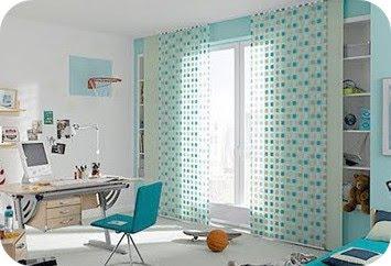Cortinas para habitaciones infantiles decoracion de salones - Cortinas habitaciones infantiles ...