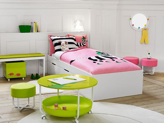 Dormitorios de color blanco para ni os decoracion de salones - Dormitorios infantiles blancos ...