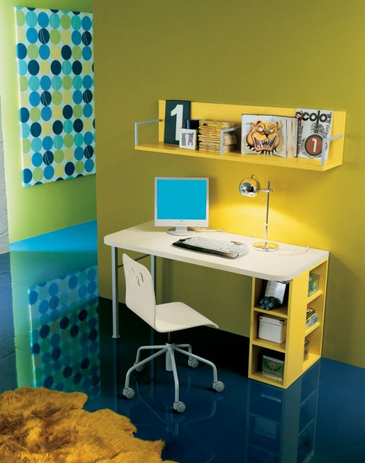 Kids Study Room Design Ideas 524 x 665