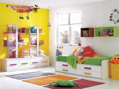 Estos peques dormitorio de ni os - Muebles almacenaje ninos ...