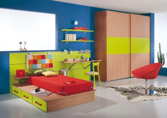 Ideas de decoraci n de dormitorios para ni os de - Decoracion de habitaciones para ninos ...
