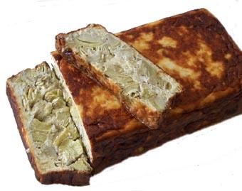 receta-vegetariana pastel de alcachofas Pastel+de+alcachofas