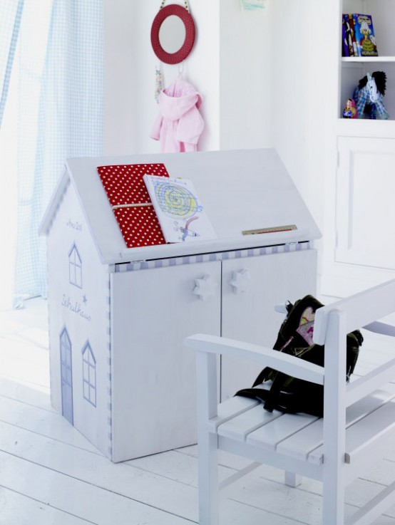 Mesas escritorio para ni os modernos decoracion de salones - Escritorio ninos ...