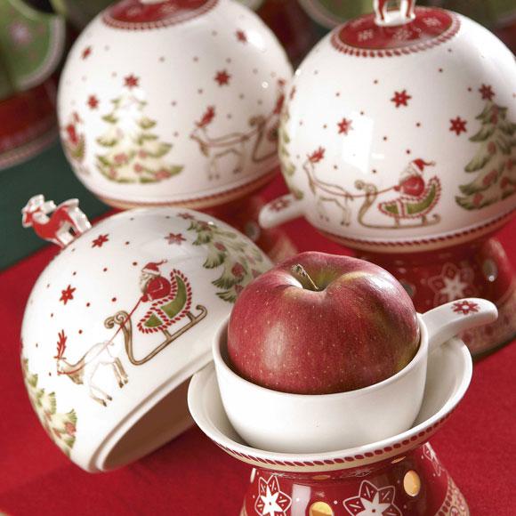 Web de la navidad decore su mesa de navidad con hermosa vajilla - Vajillas navidenas ...