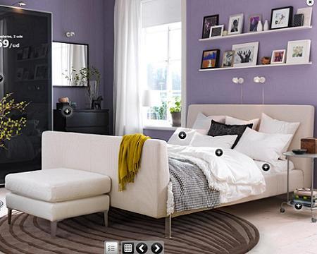 Decoraci n de la casa ikea nos muestra sus dormitorios - Dormitorios de ikea ...