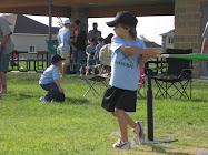 Jacob playing t-ball
