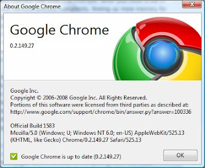google chrome browser new to the internet