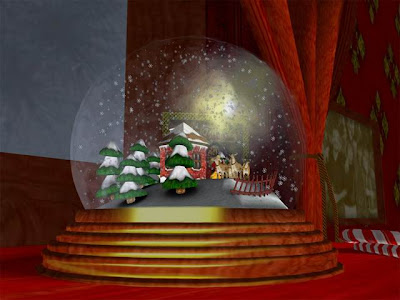 Snow Globe Christmas thoughts and memories that will last forever with Speedcat Hollydale