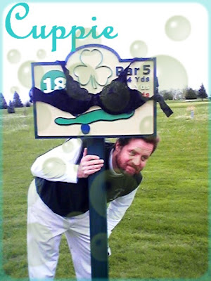 Cuppie bra golf par 5