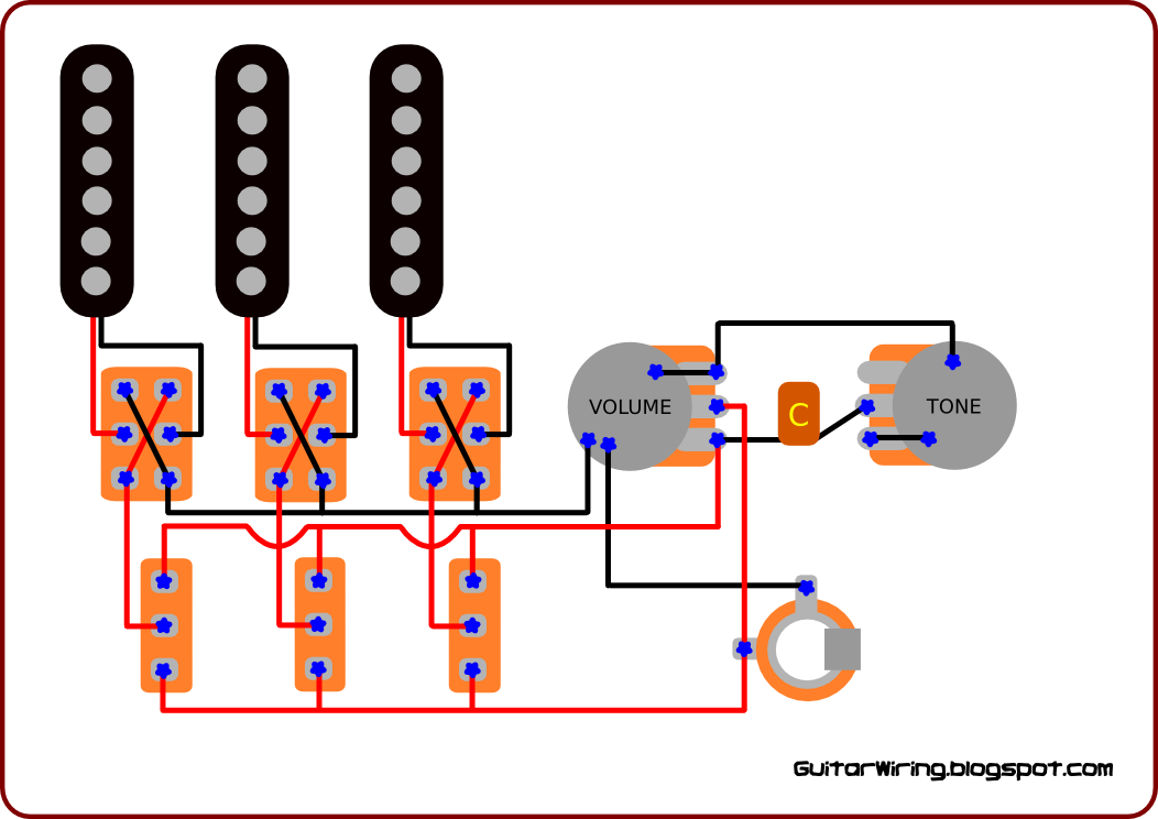 Wiring Diagram Brian May Guitar : The guitar wiring diagrams and tips brian may