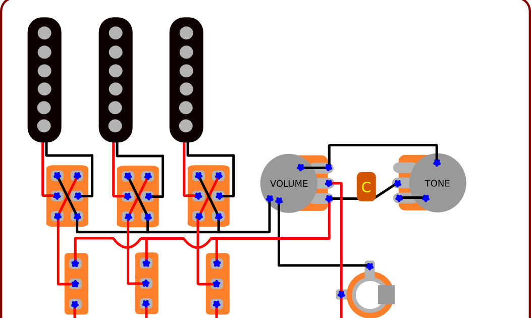 guitar wiring diagrams 1 pickup volume tone images guitar wiring blog diagrams and tips the brian s guitar wiring