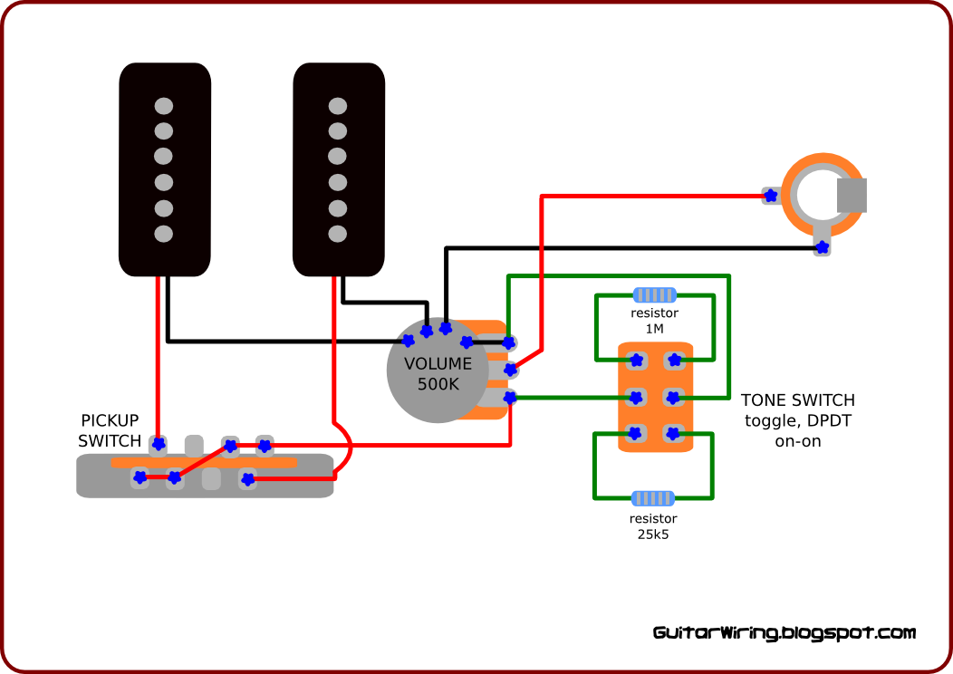 the guitar wiring blog diagrams and tips wiring for p90 pickups rh guitarwiring blogspot com 3 Single Coil Wiring Diagrams 3 Single Coil Wiring Diagrams