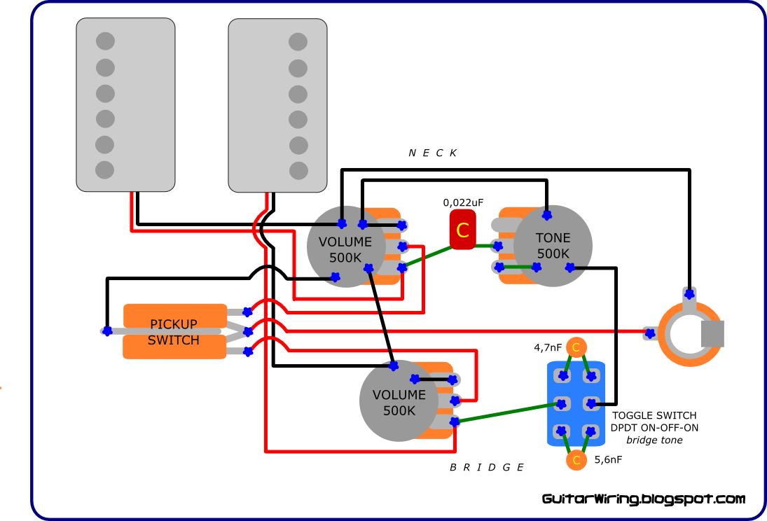 The Guitar Wiring Blog diagrams and tips Wiring Mod for
