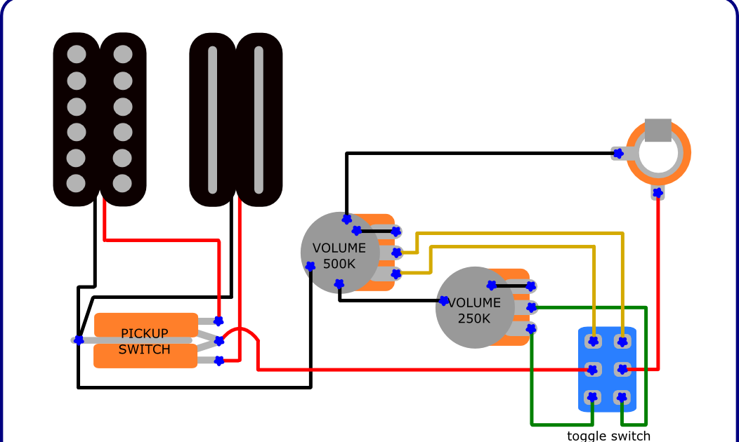 Electric Guitar Wiring Diagrams Switch Wiring Diagram On Way