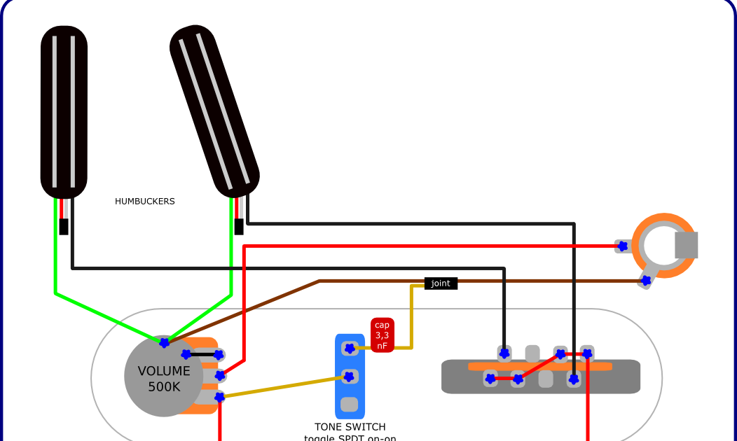 The Guitar Wiring Blog  diagrams and tips     Hot    Telecaster Project  with humbuckers