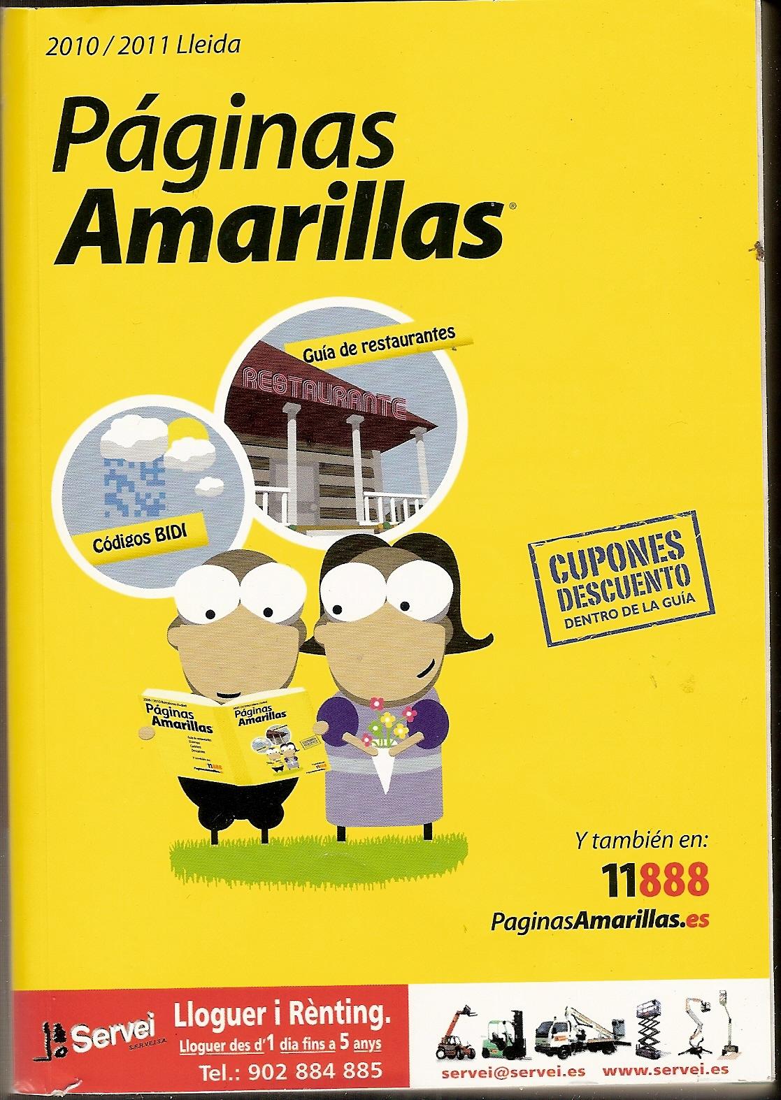 Tarracoferma septiembre 2010 for Paginas amarillas pamplona