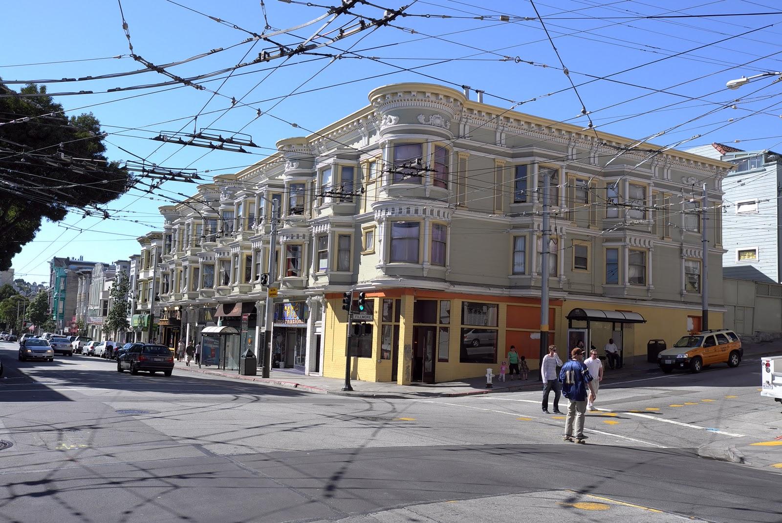 Motor Hotel San Francisco Californie Pacific Heights