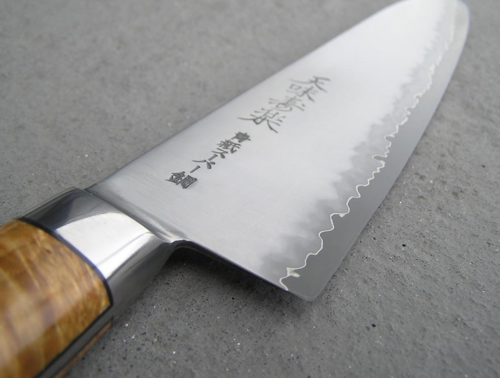 japanese knife sharpening blog hiromoto gyuto the