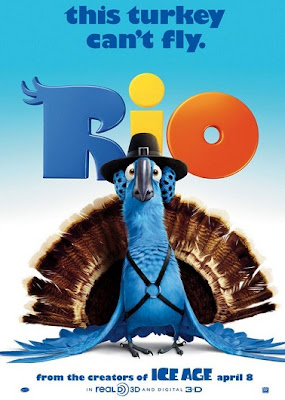 rio poster  Download Filme Rio DVD-R Tri Audio
