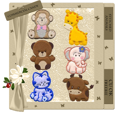 Stitched Animals - By: Commercial Candy CCandy-Stitched+Animals+Preview