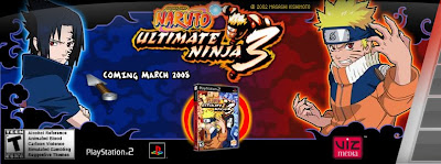Naruto Ultimate Ninja 3 PS2