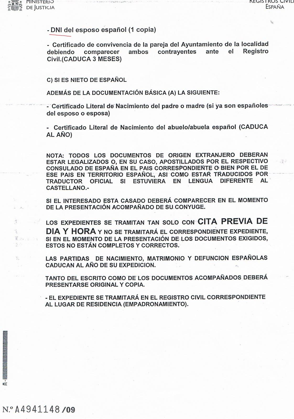 INMIGRACIÓN UNA OPORTUNIDAD: REQUISITOS Y TRAMITES NECESARIOS PARA ...