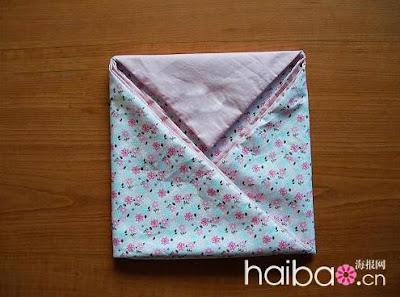 Шьем летнюю сумку из ткани.