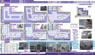 My walkthrough works and designs mall project