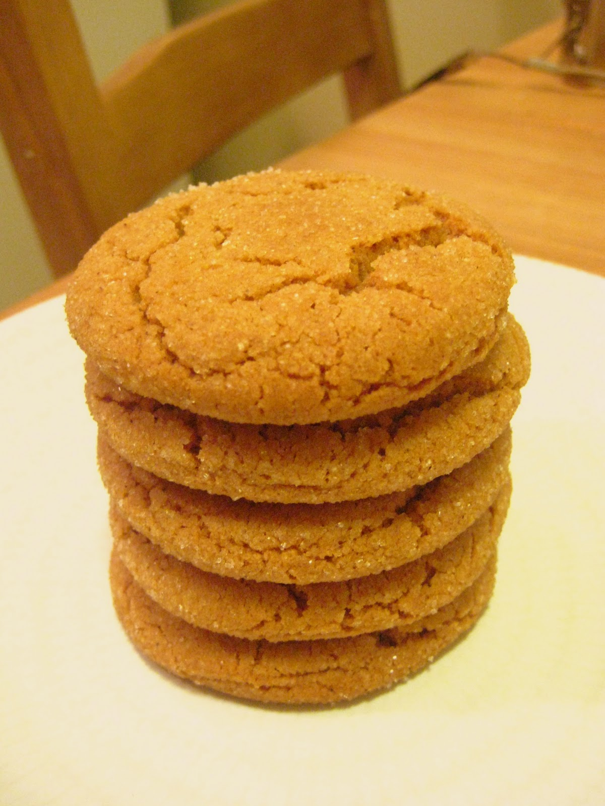 K&K Test Kitchen: Christmas Cookies Part 1: Chewy Molasses ...