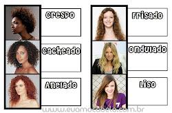 Qual é o seu tipo de cabelo?