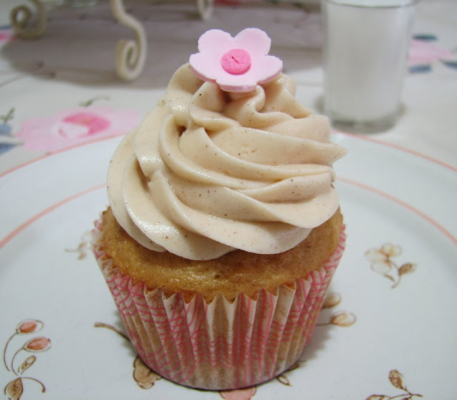 That Winsome Girl: Snickerdoodle Cupcakes