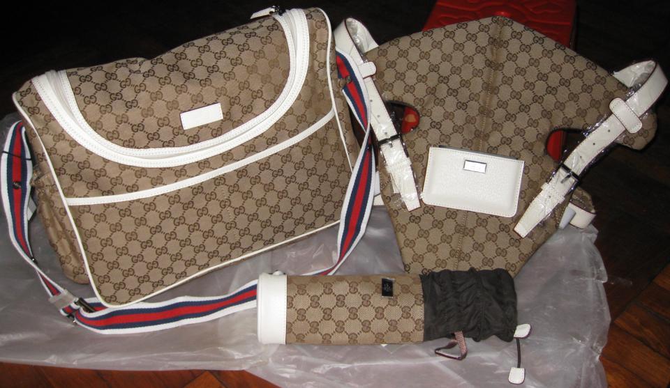 Gucci Diaper Bags Gucci Diaper Bag Set Baby Carrier