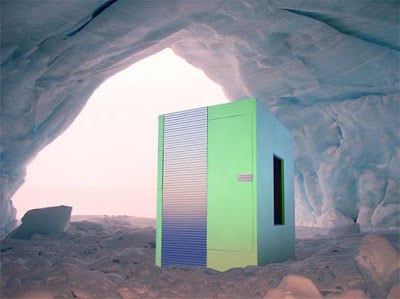 house concept for Living in a land filled with perpetual snow