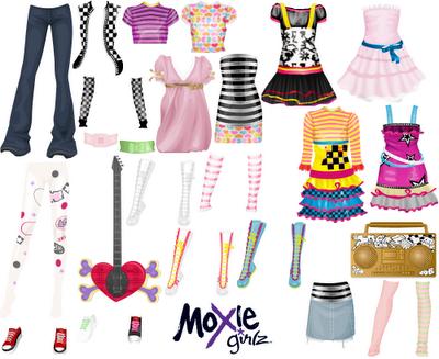 Roupas moxie girlz stardoll moda - Moxie girlz pagine da colorare ...