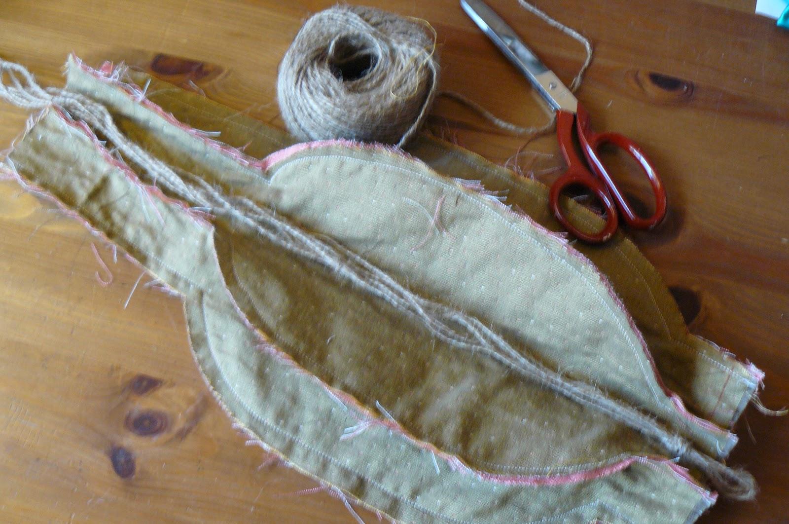 Cartamodello zucca in stoffa